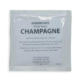 Wineworks Champagne Yeast 5g Sachet