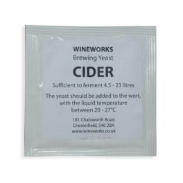Wineworks Cider Yeast 5g Sachet