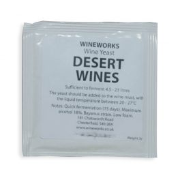 Wineworks Desert Wine Yeast 5g Sachet