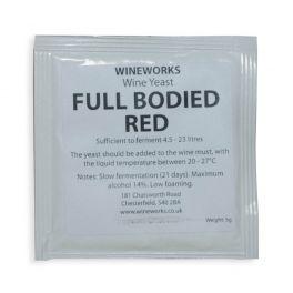 Wineworks Full Bodied Red Wine Yeast 5g Sachet