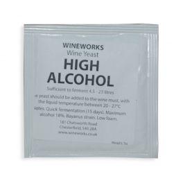 Wineworks High Alcohol Yeast 5g Sachet