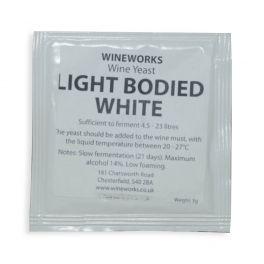 Wineworks Light Bodied White Wine Yeast 5g Sachet
