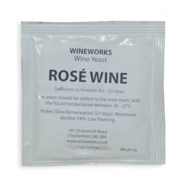 Wineworks Rosé Wine Yeast 5g Sachet