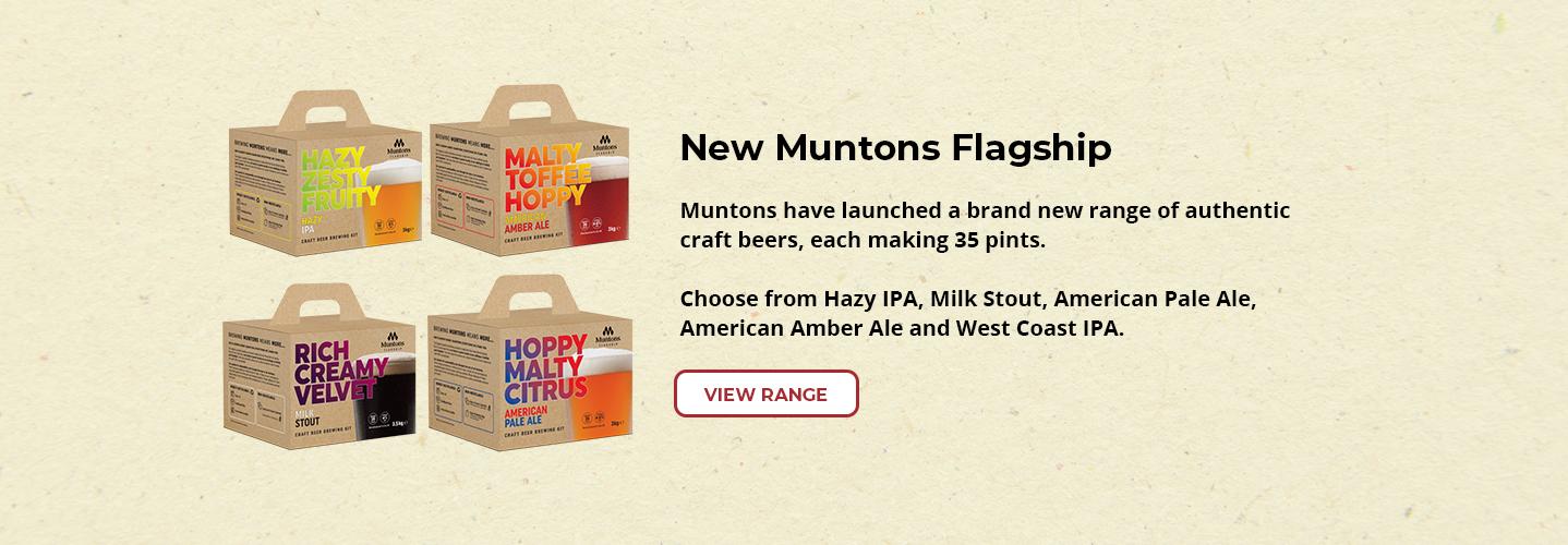 Muntons Flagship Range